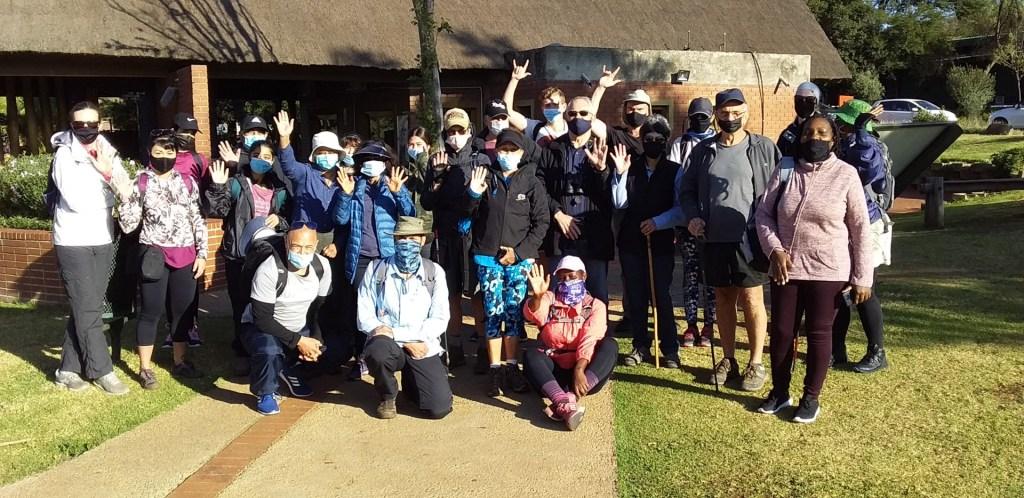 Photos of the Sunday Hike and Walk Klipriviersberg Johannesburg – 2 May 2021