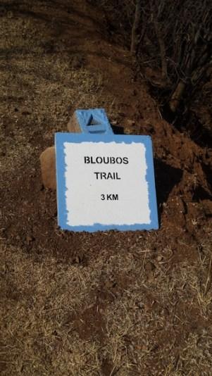 Bloubos trail