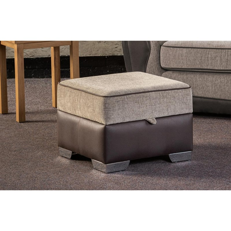 dreams square storage footstool