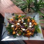 Winter Jap pumpkin salad