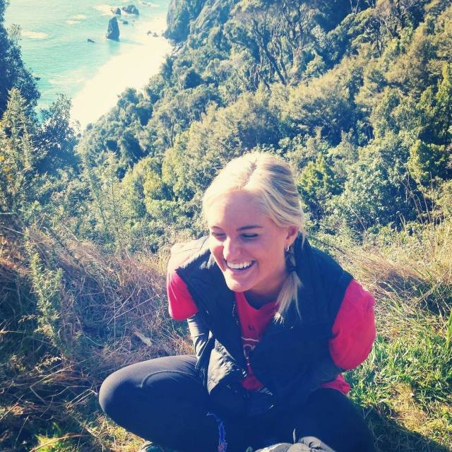 Laughing in New Zealand