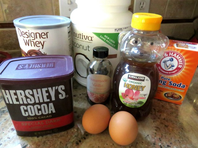 Healthy Chocolate zucchini protein brownies!