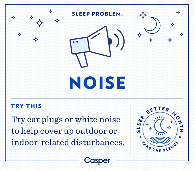 reduce noise for sleep