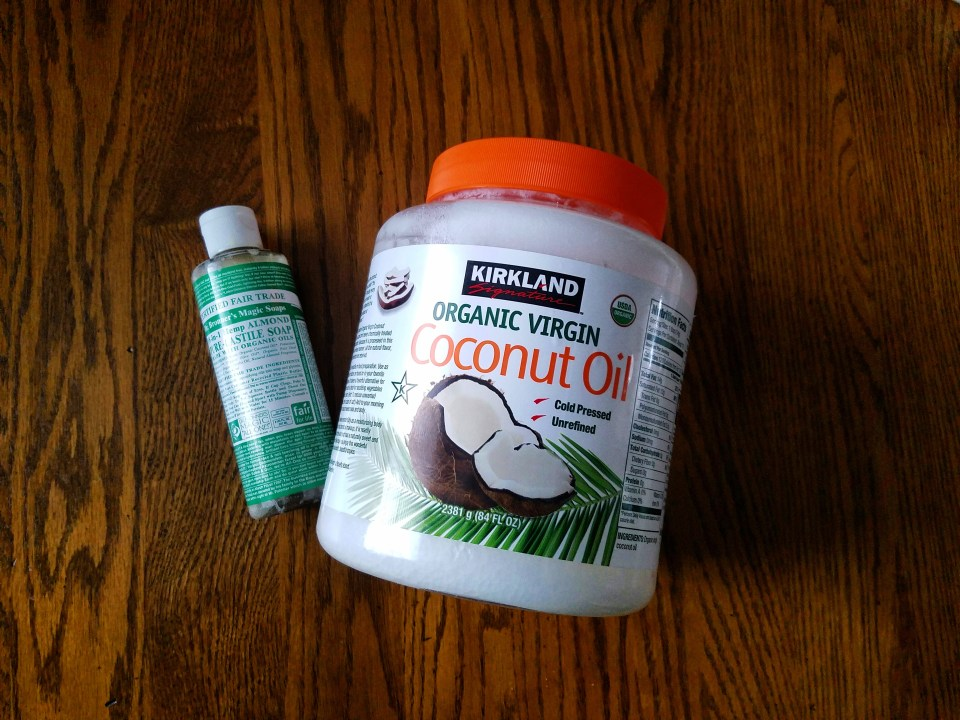 coconut soap- two simple ingredients