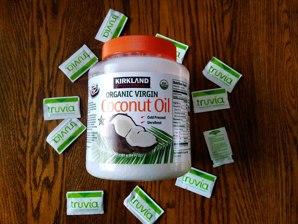 coconut sugar scrub with stevia