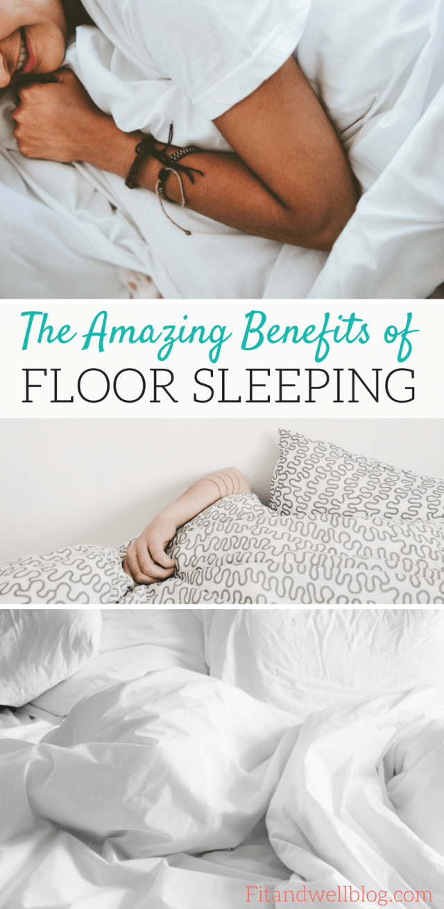 The Amazing Benefits of Floor Sleeping. I sleep on the floor and it has SAVED my back. Read my story and learn more about the benefits of floor sleeping!