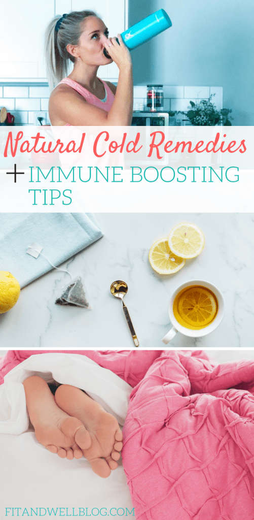 natural cold remedies and immune boosting tips