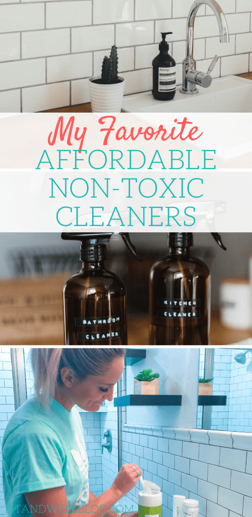 my favorite affordable non toxic cleaners for you home!