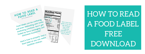 how to read a food label (1)