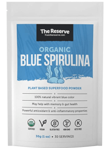 blue spirulina poweder