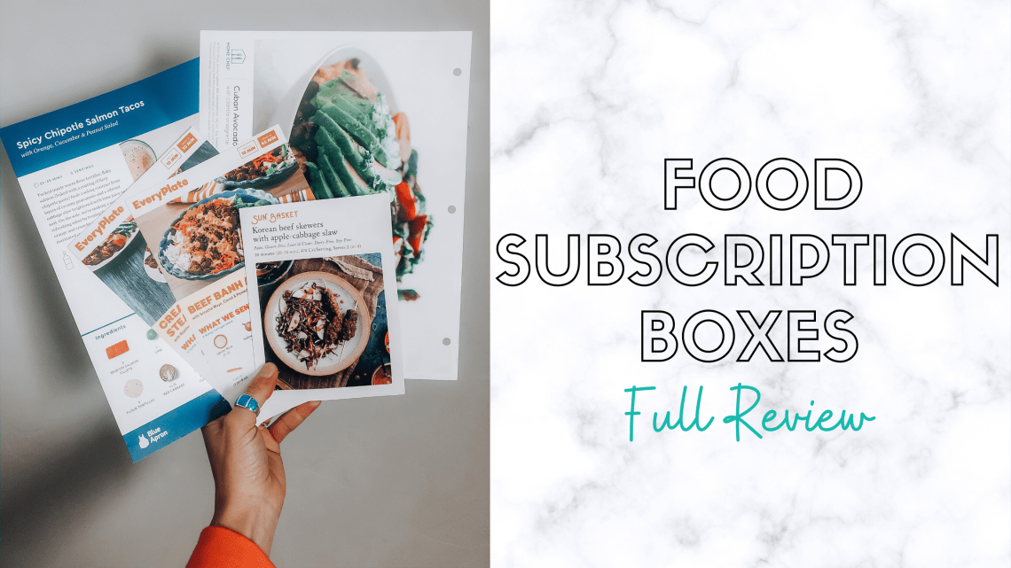 food subscription boxes review