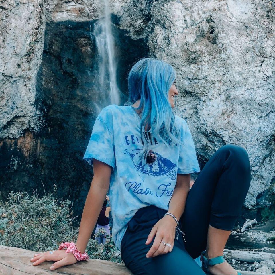 fairy falls yellowstone