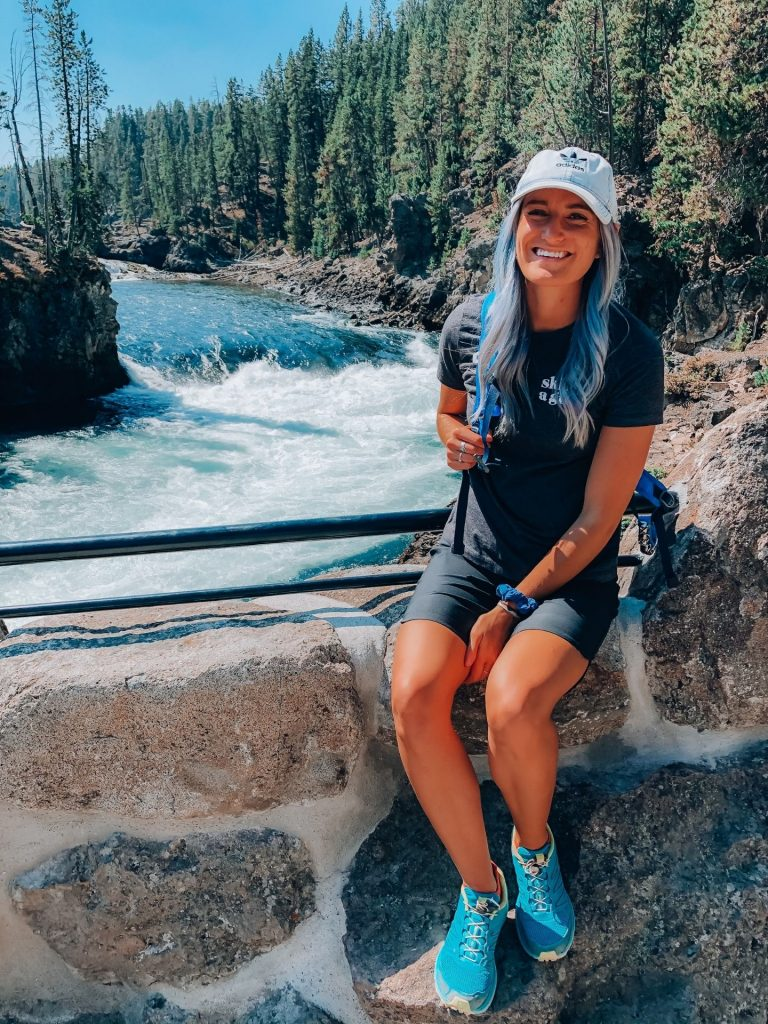 yellowstone national park upper falls