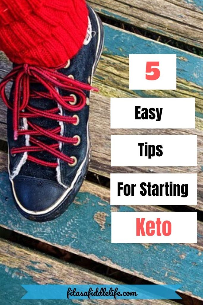 Easy tips to start keto diet to make the first week easy so you can lose weight.