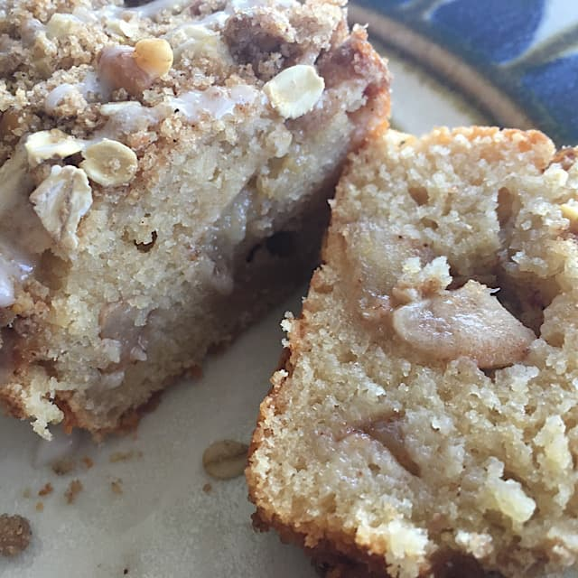Make an apple spice loaf if you don't have time for muffins