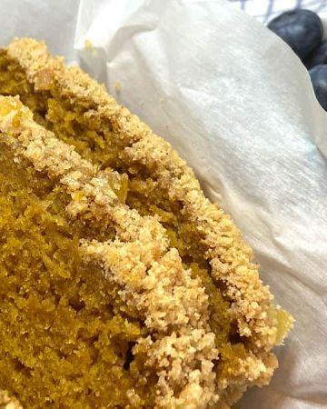 super moist pumpkin bread is a healthier alternative