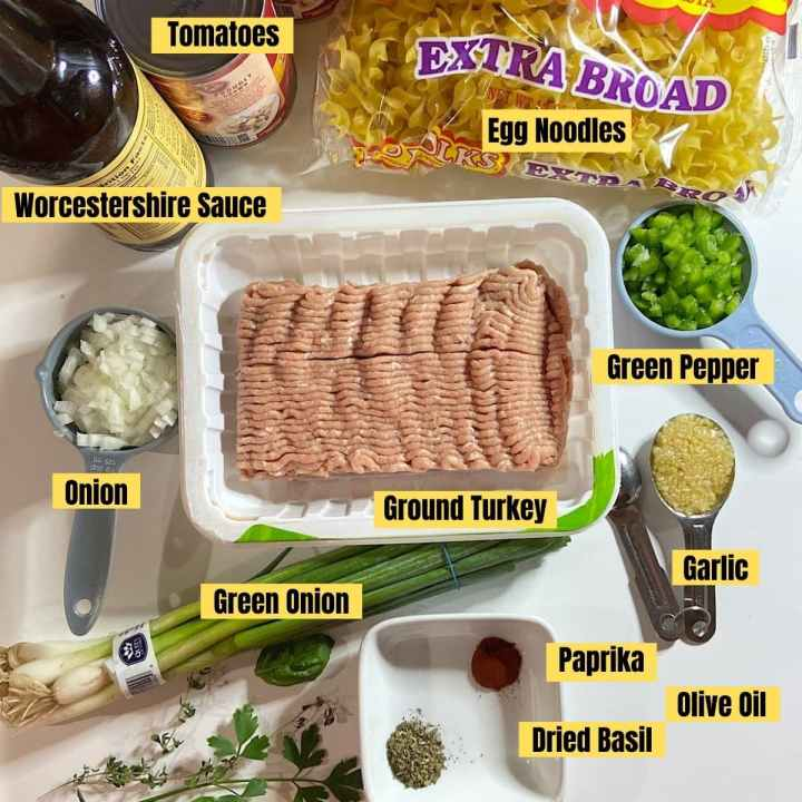 ingredients for easy goulash