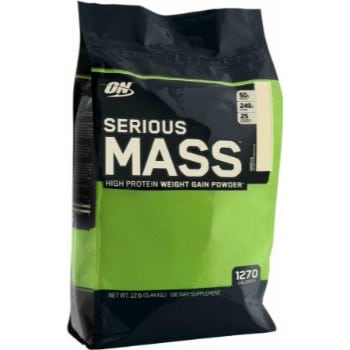 ON (Optimum Nutrition) Serious Mass, 12lbs-0