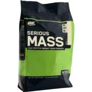 ON (Optimum Nutrition) Serious Mass, 12lbs-0