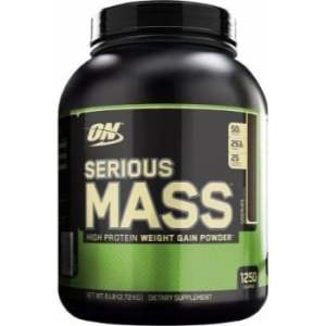ON (Optimum Nutrition) Serious Mass, 6lbs-0