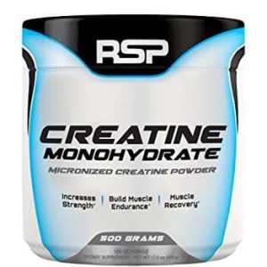 RSP Nutrition Creatine Monohydrate, Unflavoured 0.66lb-0