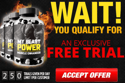 My Beast Power Muscle Enhancer - Bodybuilding - Muscle Booster- Reviews -Risk Free Trial -Fitbeauty365.com