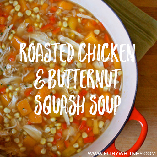 Roasted Chicken and Butternut Squash Soup Recipe