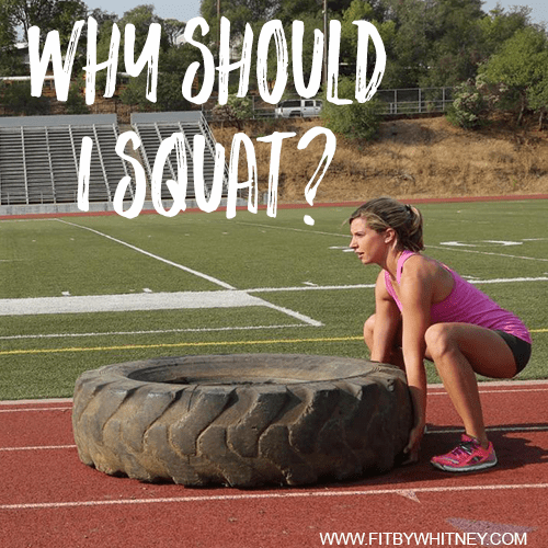 Why Should I Squat - Benefits of Squatting