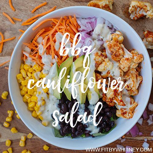 bbq cauliflower salad recipe