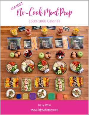 Almost No-Cook Meal Prep Plan