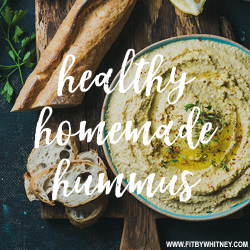 Healthy Homemade Hummus Recipe