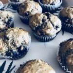 Muffins bananes bleuets