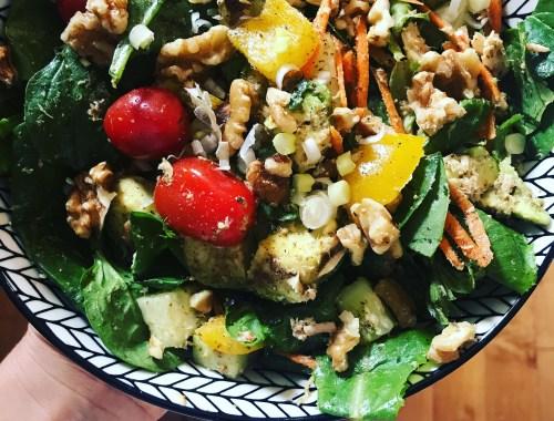 Super salade oméga-3