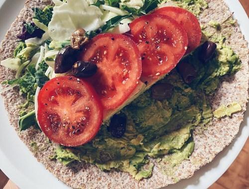 Tortillas légumes grains germés
