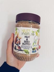 beurre de noix et graines