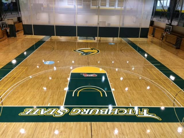 New Hardwood a Swish Among Students