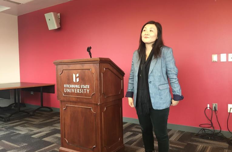 "Author Spotlight: Jimin Han author of ""A Small Revolution"""