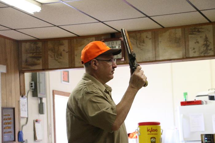 Chuck explains muzzleloader firearms