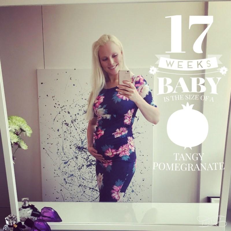 Enjoying the honeymoon trimester – 17 weeks pregnant – Fit