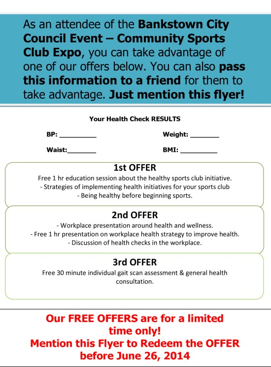 fit clinic exclusive offer