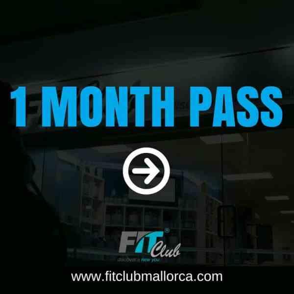 1 month gym pass