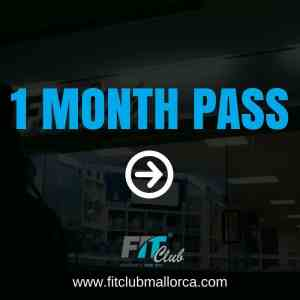 1 month gym pass
