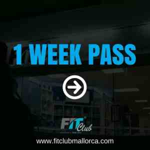 1 week gym pass