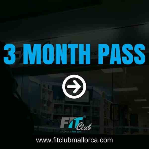 3 month gym pass