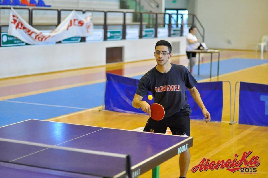 Marco Sarigu vincitore ad Ateneika