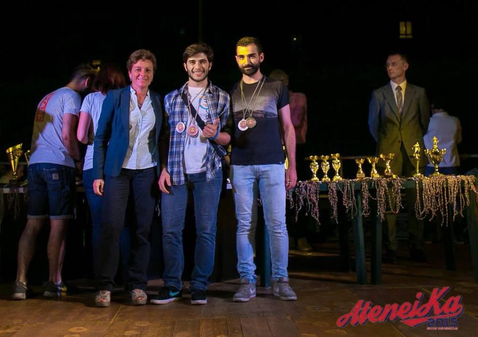 Premiazione per Simone Boi
