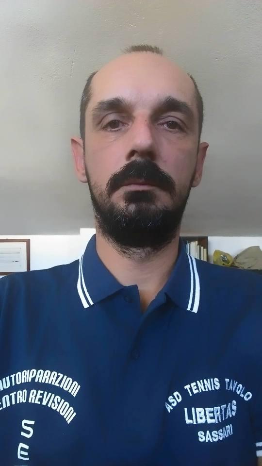 Cristian Mateiu della Libertas Sassari