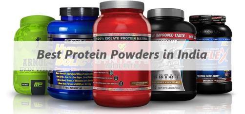 whey protein powders