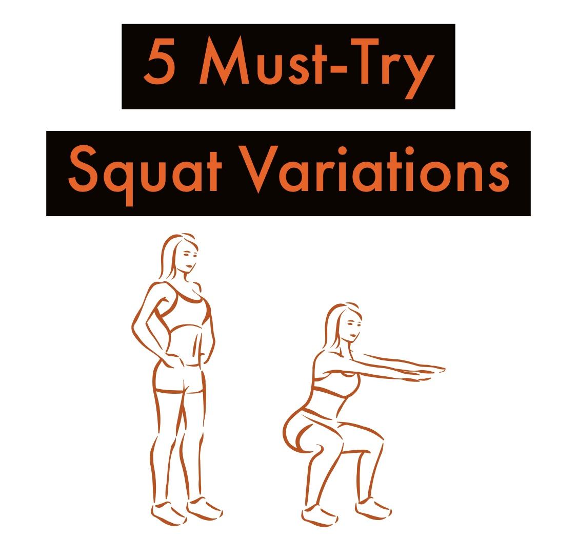 5 squat variations