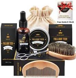 beard growth kits- full light tech